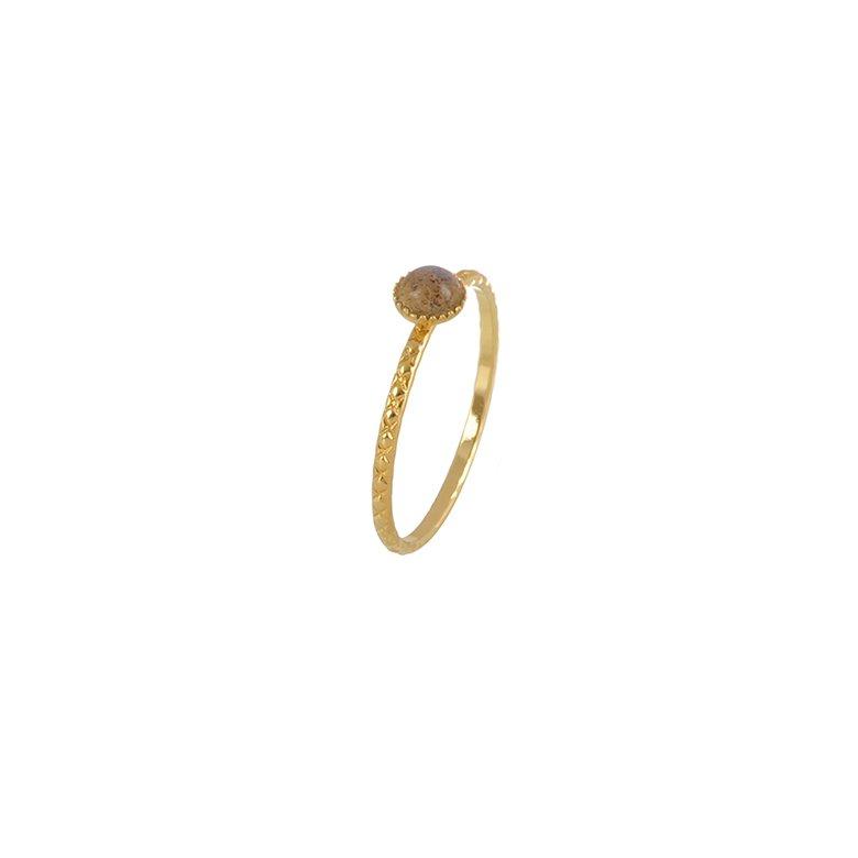 pépite bijoux,plaqué or,bague,diamant,labradorite