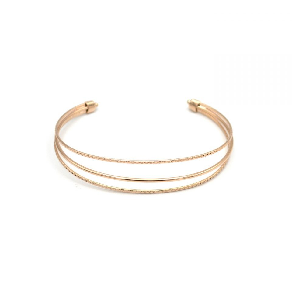 Aby, bracelet manchette, bracelet manchette fin, bracelet manchette or, Bracelet martelé, manchette, manchette martelé, manchette or