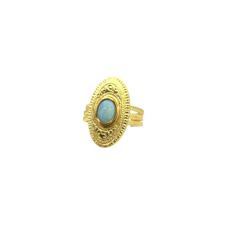 Gypsy, madeinparis, ring,gold