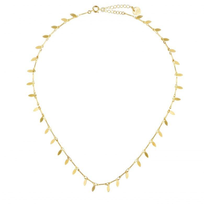 Collier MYOSOTIS, collier bohème, collier or femme, collier ras de cou, Créateur de bijoux, myosotis, pepitebijoux