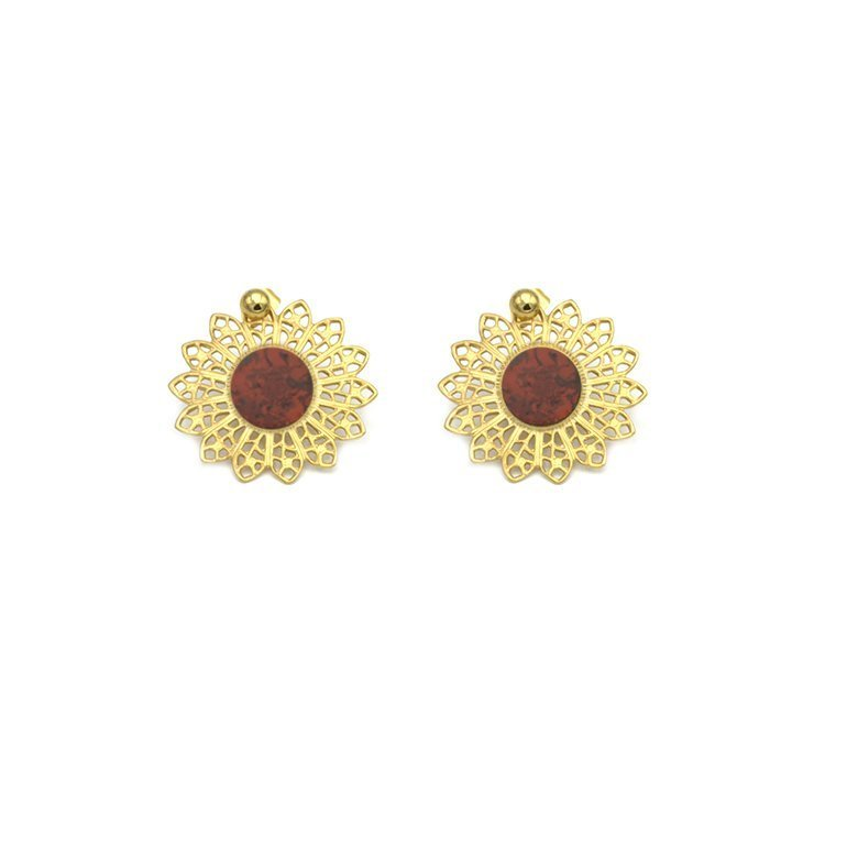 pépite bijoux,plaqué or,clarisse,JASPE