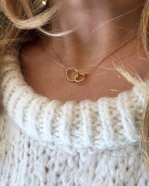 pépitebijoux,roxane,collier,plaqué or,photo portée