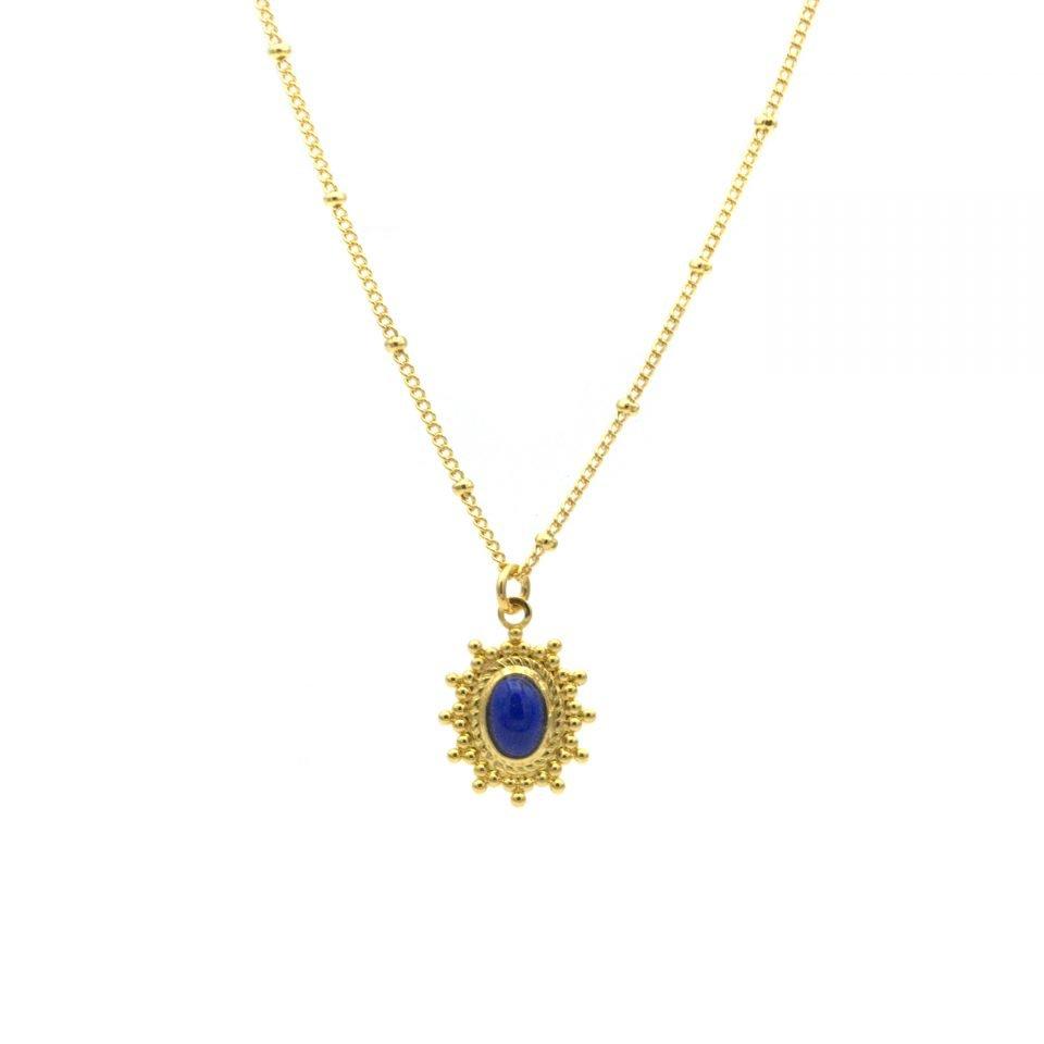 pepitebijoux,lapis lazuli,collier anna