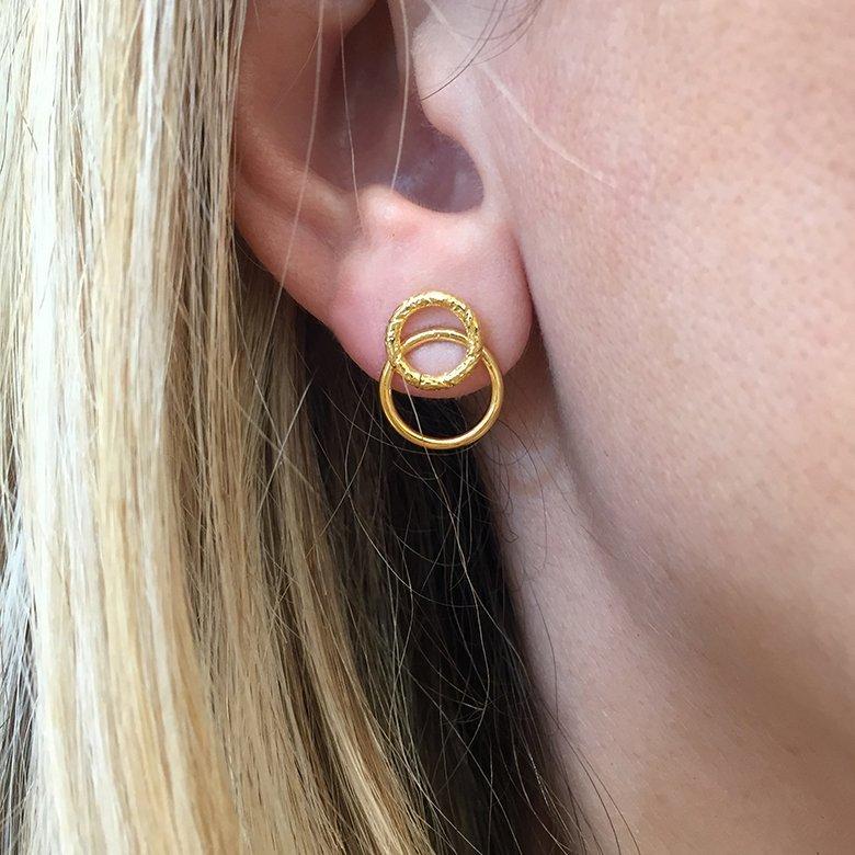 boucles d'oreilles,roxane,pepitebijoux,photo portée
