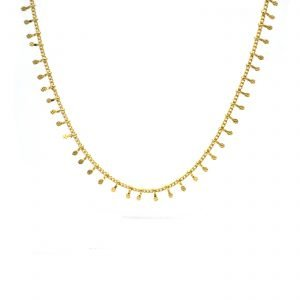 pépietbijoux,collier, plaqué or, gipsy