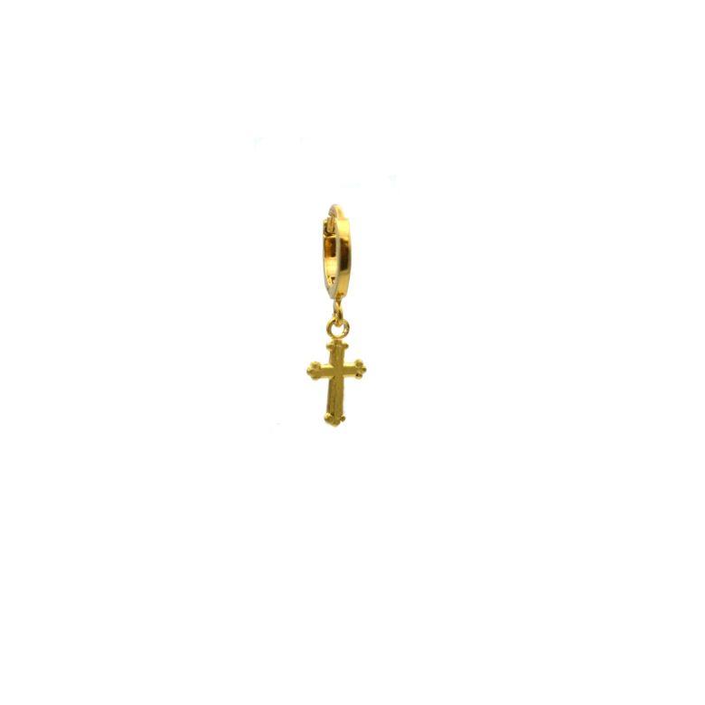 pépite bijoux,croix,plaqué or,