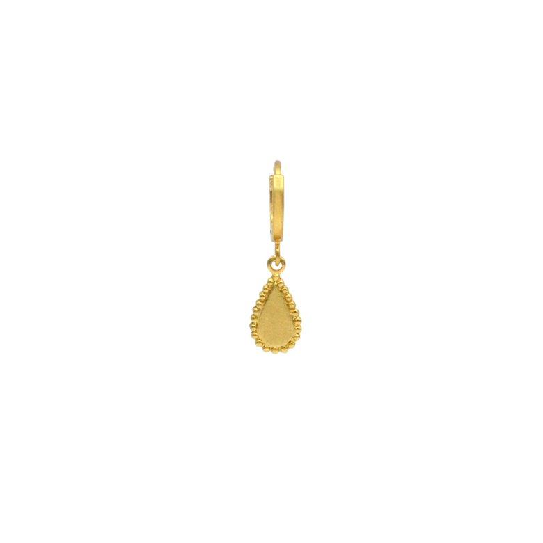 créoles, boucles d'oreilles, goutte, plaqué or, pépite bijoux, or, ethnique, bohème, tendance, bijoux