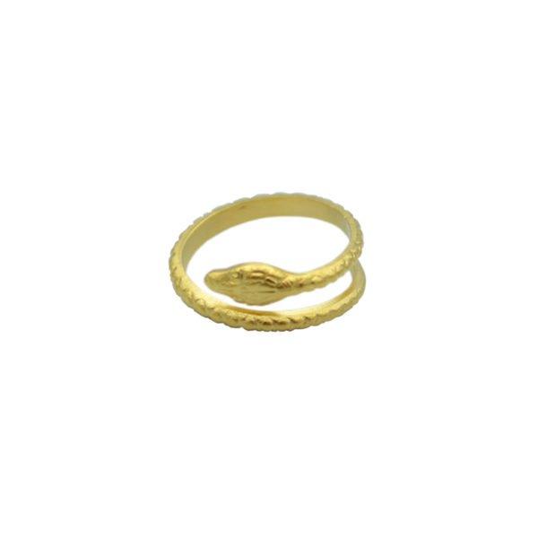 bague cobra pepite bijoux