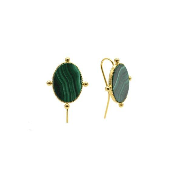 Boucles d'oreilles Aéla pépite bijoux