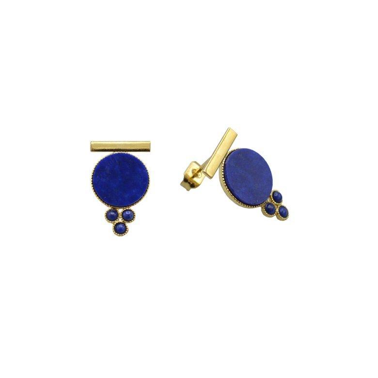 boucles d'oreilles Daly pépite bijoux