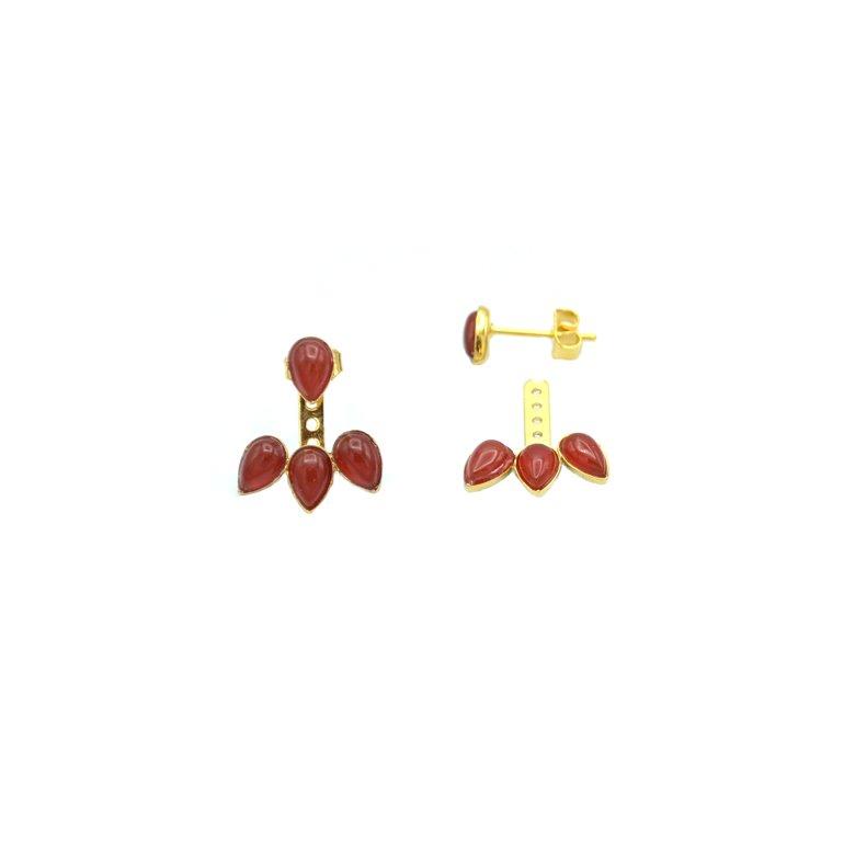 Kecy boucles d'oreilles pépite bijoux