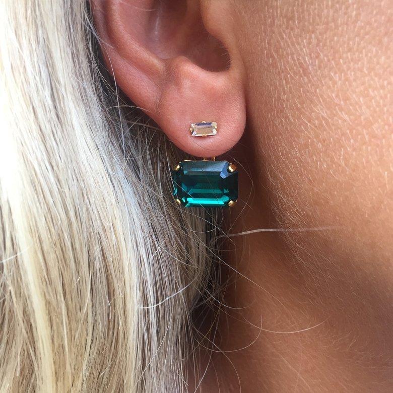 boucles d'oreilles dessus dessous saturne