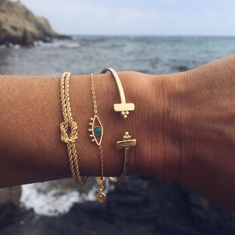 bracelet ajustable, bracelet avec pendentif oeil, bracelet pendentif, chaîne bracelet pendentif, chaîne pendentif, lior, opale, malachite, lapis, labradorite