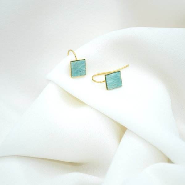 bouicles d'oreilles,indy,plaque or,pepite bijoux