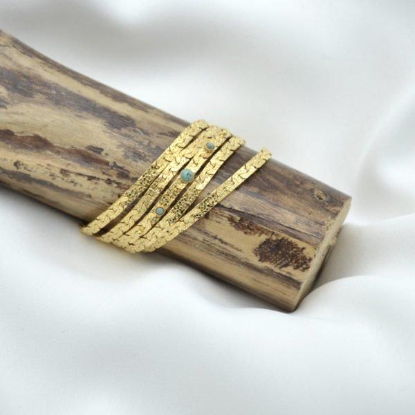 kaly, manchette,bracelet,pepite bijoux,jaspe africain