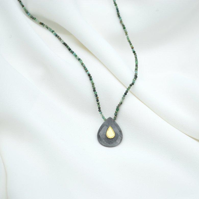 sautoirntalissement,plaquéor,pépite bijoux