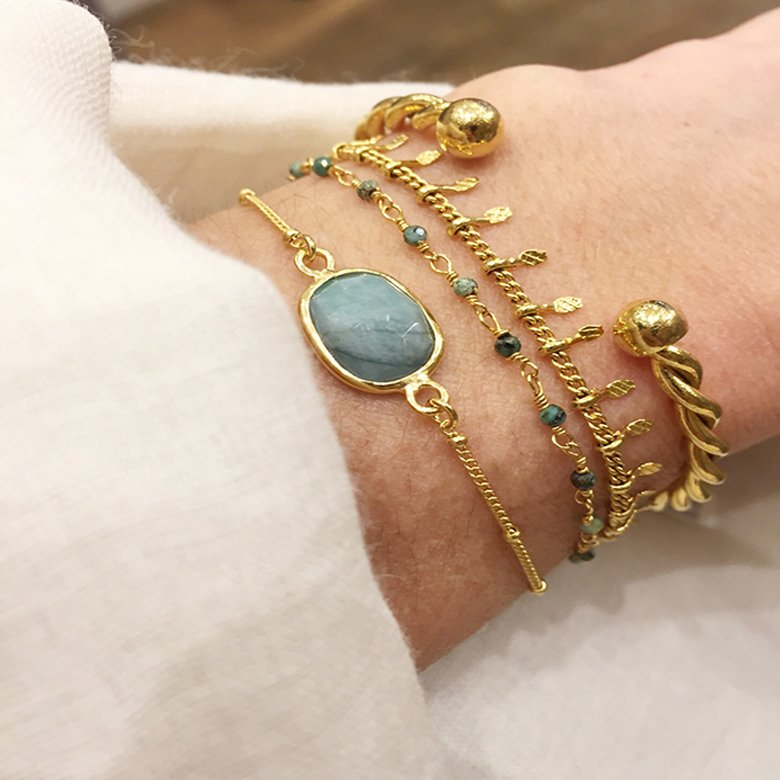jonc or, bracelet femme,