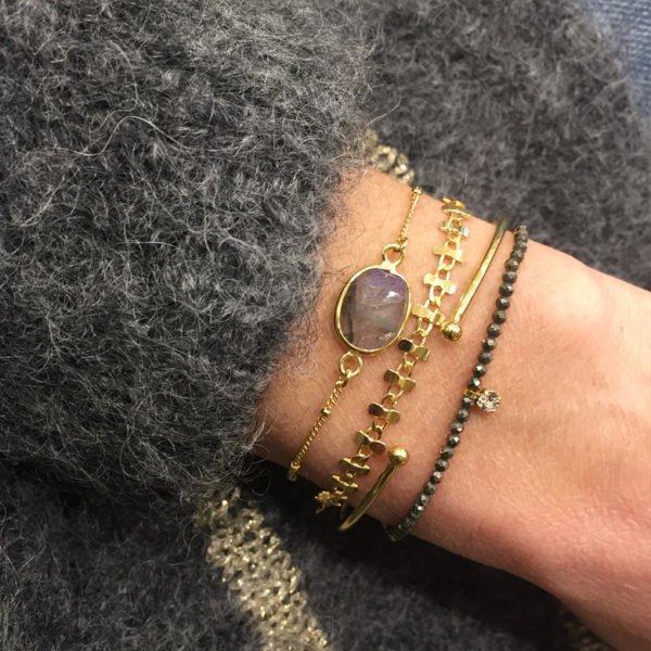 naya,bracelet,piryte,elsa,lea,photo portée
