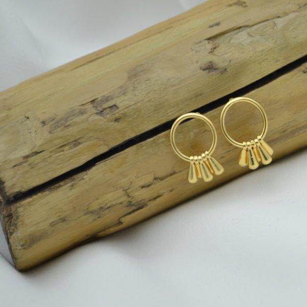 puce bo roxane plaque or pepite bijoux