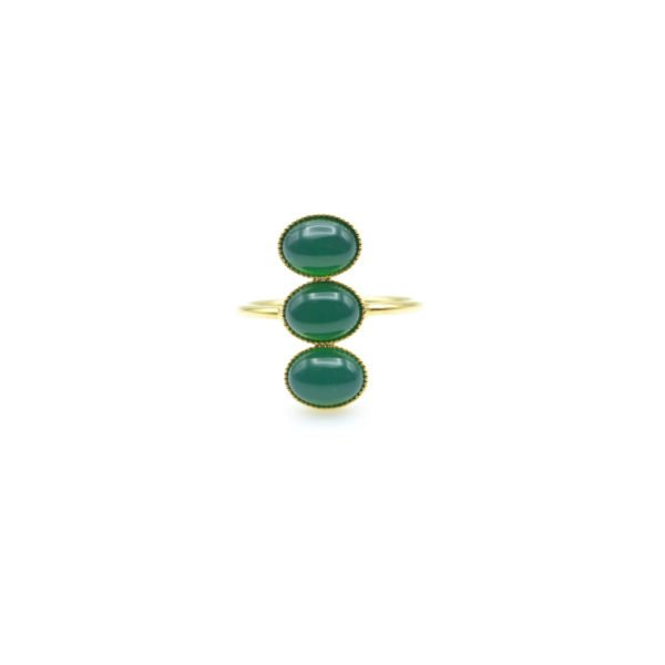 bague,lea,3 pierres fine,paris,pepite bijoux
