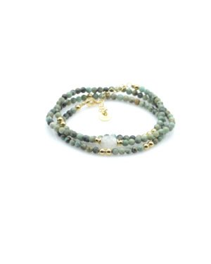 léticia,bracelet, jaspe africai,pdl