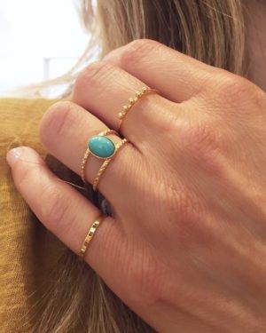 bague,diamant,turquoise,plaqué or,paris