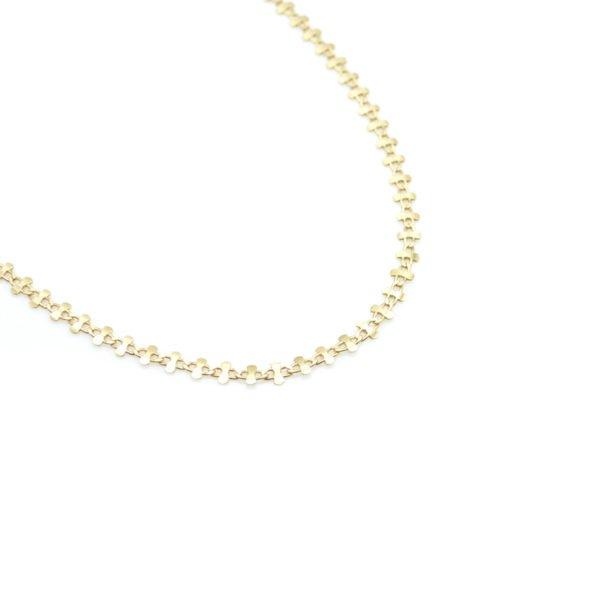 dyva,collier,plaqué or,paris pepitebijoux