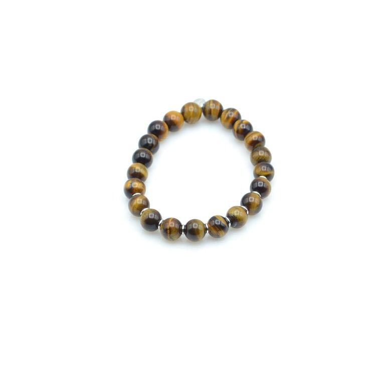 ulys,bracelet,oeil de tigre,argent