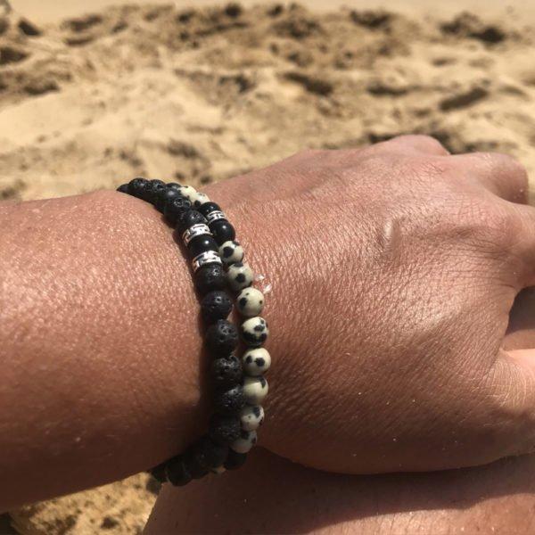 zen,bracelet,lave,dalamatien