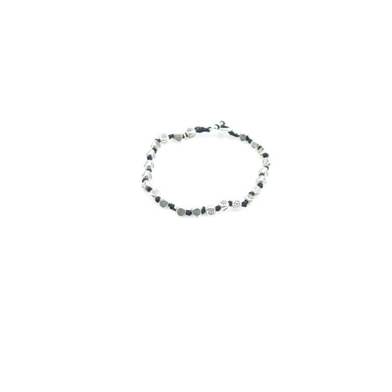 Bracelet lien argent, bracelet homme, bracelet homme argent, bracelet lien en argent, créateur de bijoux fantaisie paris, bijoux fantaisie, bracelet lien noeud argent