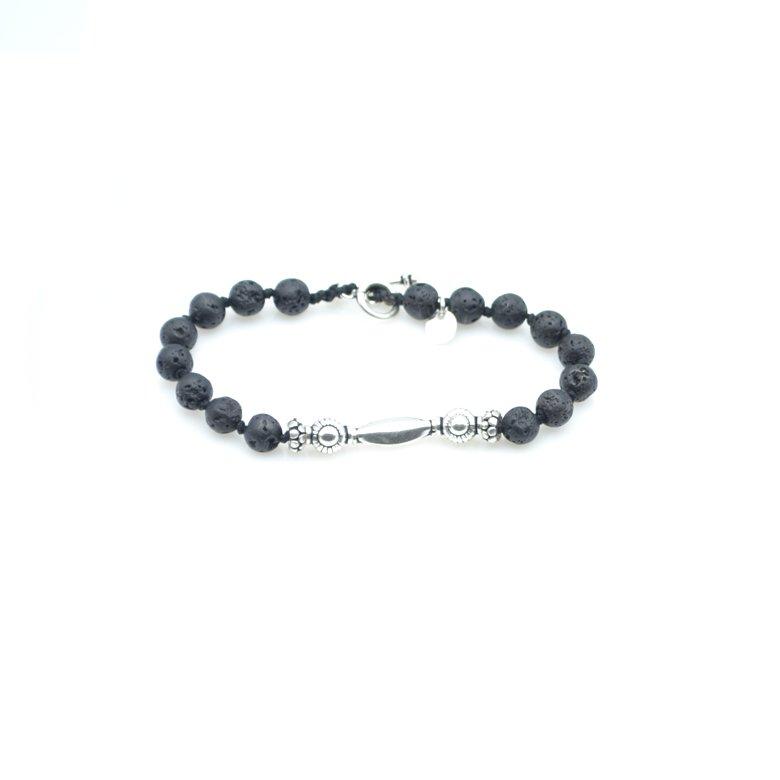 Bracelet homme pierre de lave, perle de lave, bracelet perle de lave, bracelet homme, bracelet homme pierre,