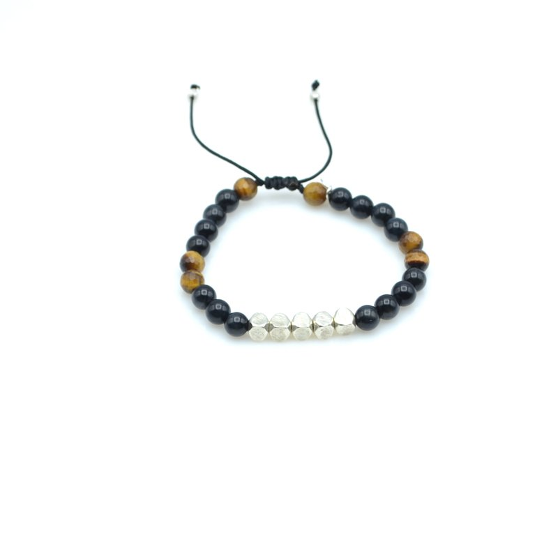 Tim, bracelet oeil de tigre, bracelet homme oeil de tigre, bracelet pierre homme, bracelet oeil de tigre homme,