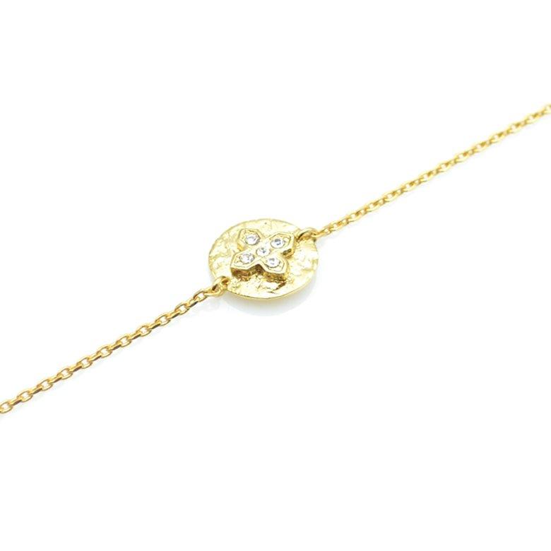 bracelet, capri,plaqué or,pepite bijoux,paris,rue st honoré,paris,cristal