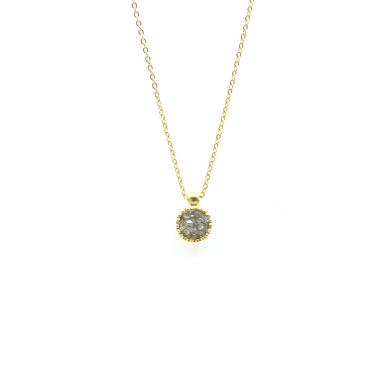 Lia, collier diamant, collier diamant femme, collier éclats de diamant, créateur de bijoux fantaisie