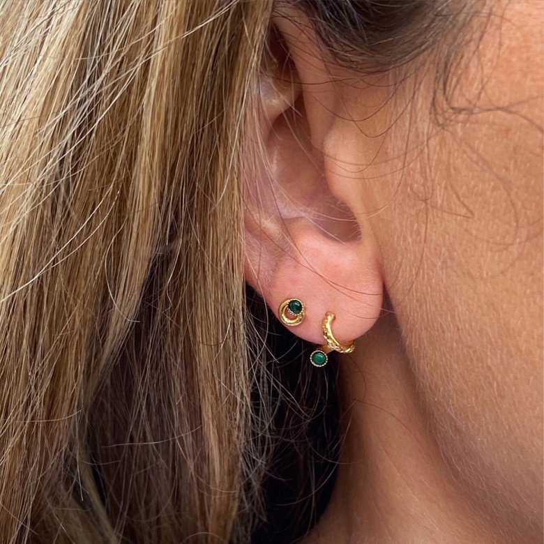 boucles d'oreilles,spinelle,asti,plaqué or,paros pépitebijoux,france