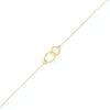 Bracelet anneaux entrelacés, roxane, bracelet anneaux, créateur de bijoux paris