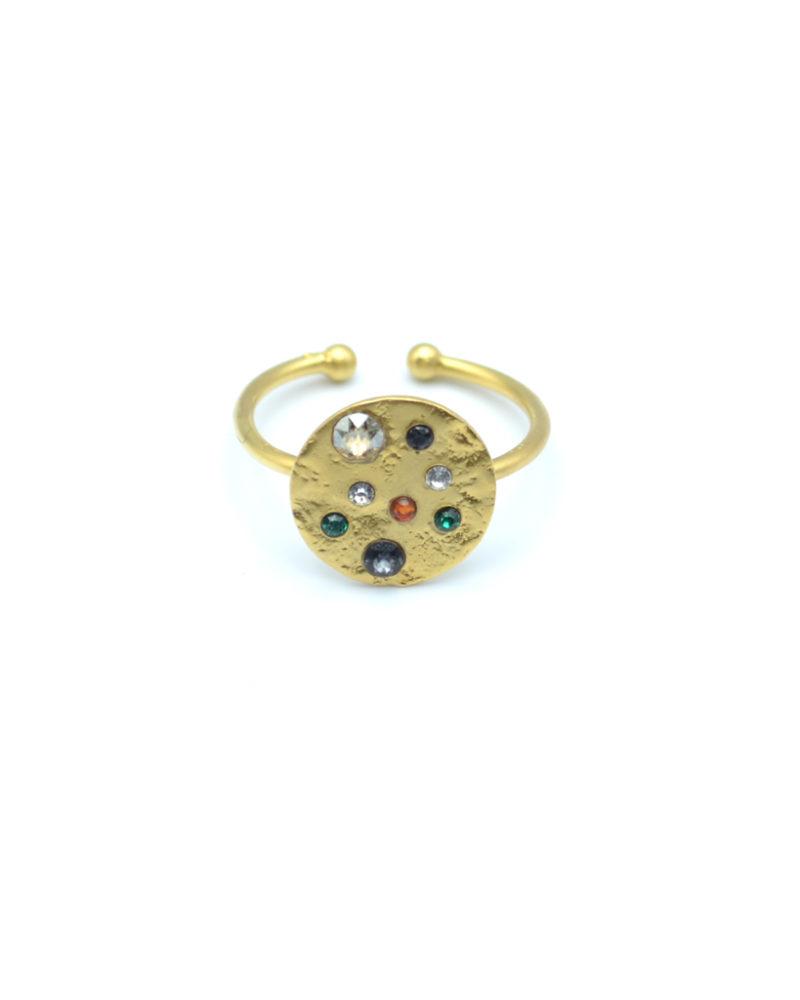 Bague constellation, bague fantaisie, bijoux créateur fantaisie paris, bague pierres fines