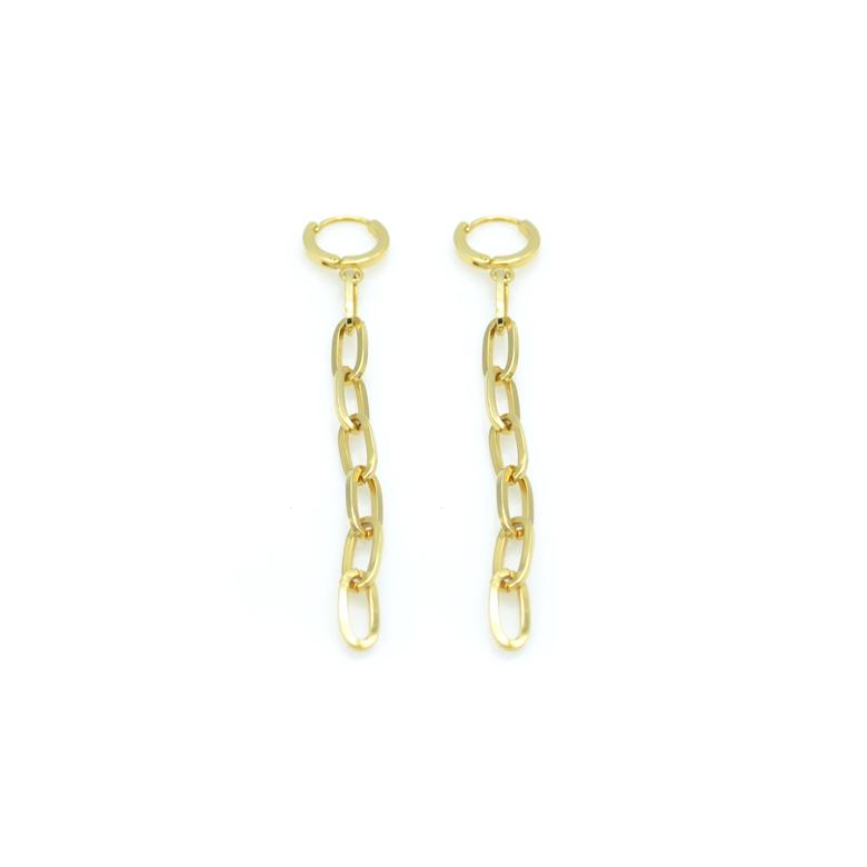 boucles d'oreilles r,chloe,paris,plaqué or, france,pépite bijoux,gold plated,2