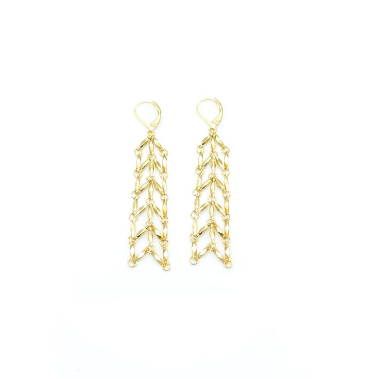 boucles d'oreilles pendantes orientales, boucles d'oreilles orientales, boucles d'oreilles fantaisie, créateur de bijoux fantaisie paris