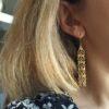 boucles d'oreillesr,romy,plaqué or