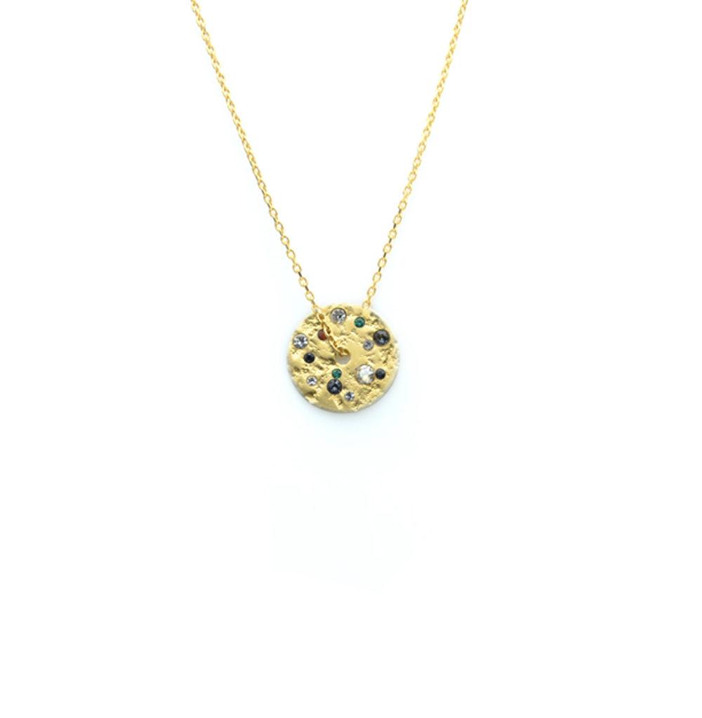 collier constellation, collier pierres semi-precieuses, collier cristaux swarovski, créateur de bijoux paris, collier fantaisie