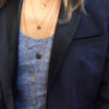 collier long, collier long pendentif, delhi, labradorite, pierre sertie, sautoir avec pendentif, sautoir pendentif, labradorite, pierre sertie, albane