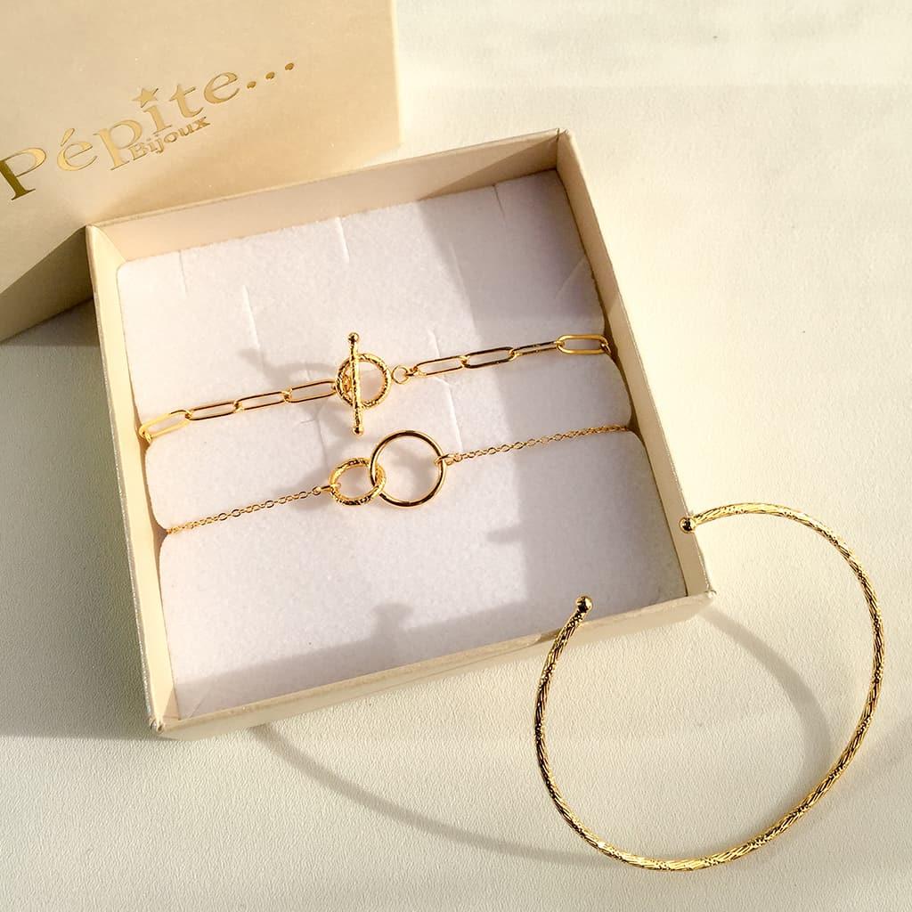 boutique de noel, bracelet femme, coffret bijoux, Coffret bracelets, créateur de bijoux fantaisie, jess