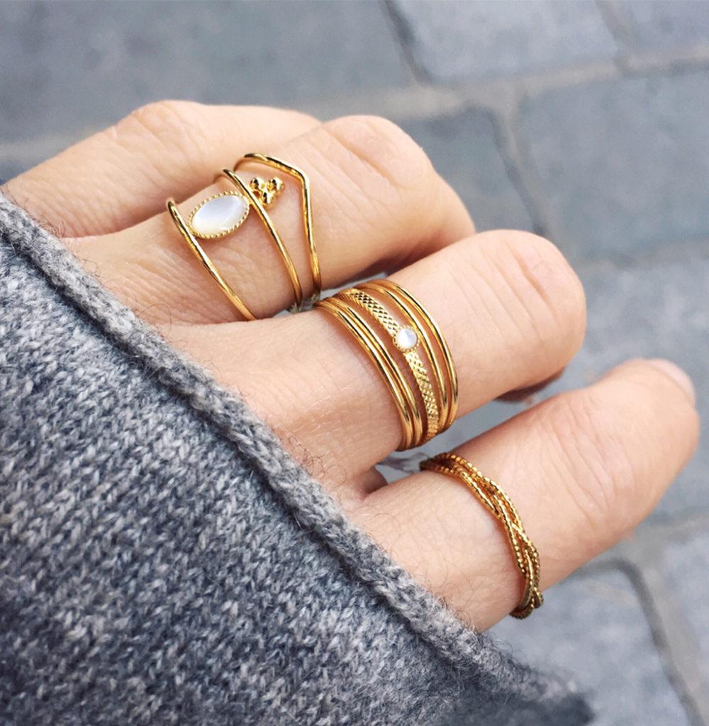 bijoux créateur, Bijoux fantaisie paris, coffret bagues, coffret bijoux, Mya