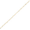 bracelet delhi perle plaqué or pepite bijoux labradorite
