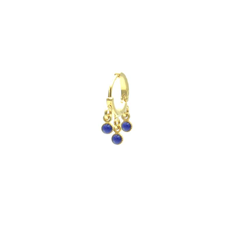 creole plaqué or pépite bijoux LAPIS