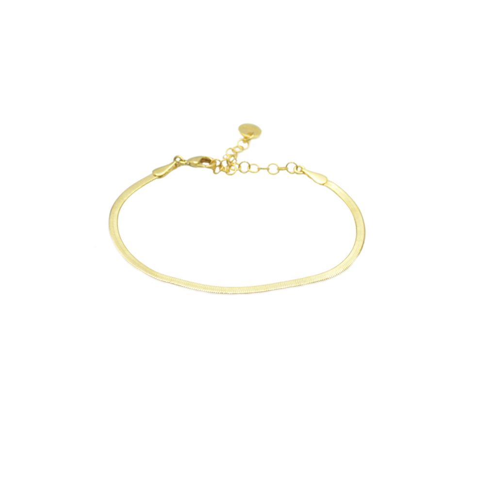 bracelet argent, bracelet maille, bracelet maille anglaise, bracelet maille plate, bracelet maille serpent, bracelet or femme, créateur de bijoux fantaisie, ethel