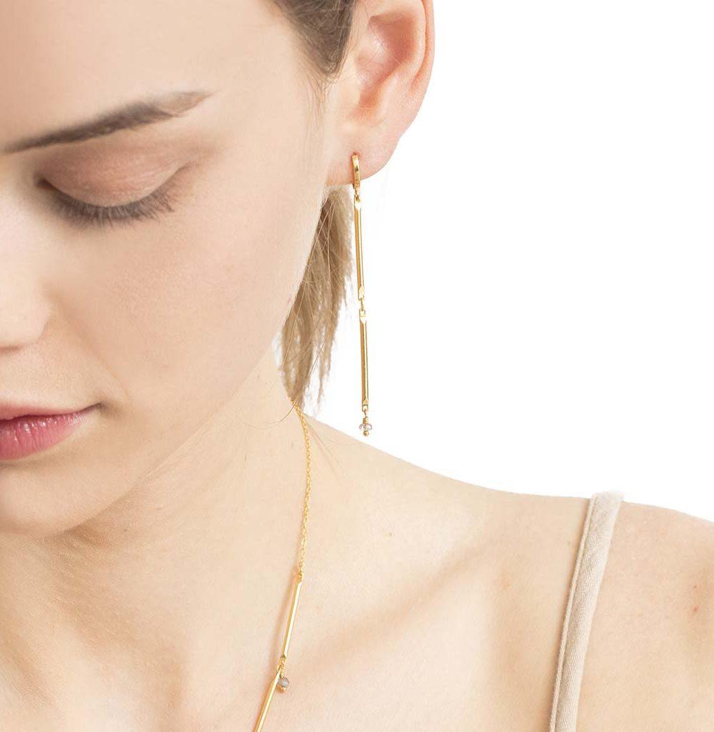 boucles d'oreilles pendantes tiges, boucles d'oreilles tiges, boucles d'oreilles tendances, boucles d'oreilles tiges, boucles d'oreilles plaqué or femme, créateur de bijoux fantaisie paris, bijoux fantaisie femme