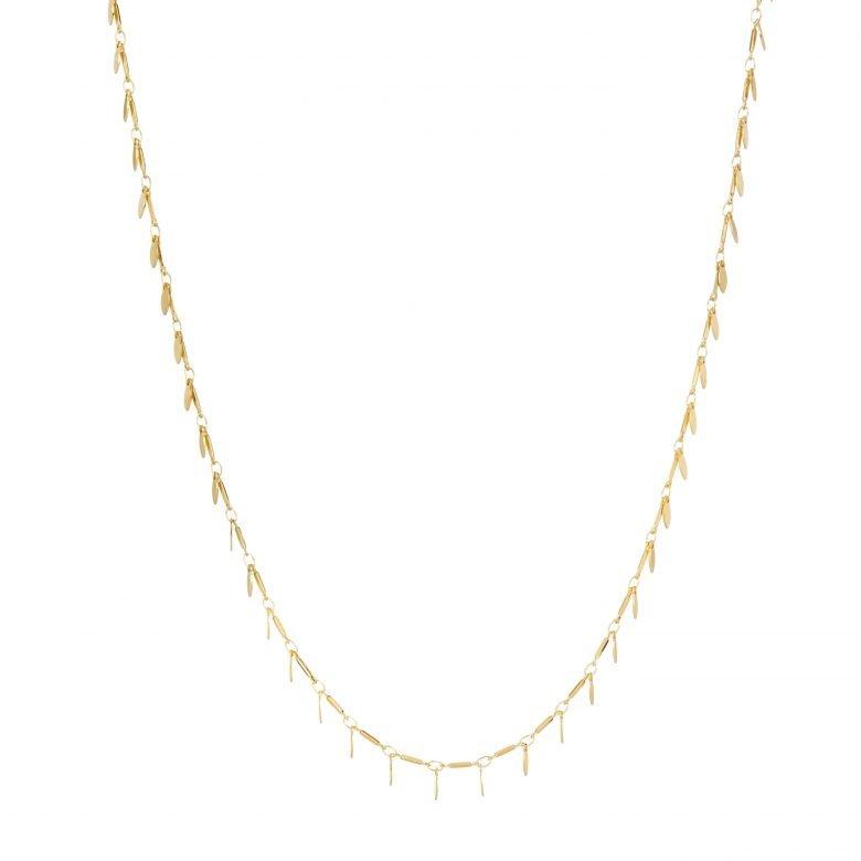 Bijoux fantaisie femme, collier bohème, collier pampilles, myosotis, pepitebijoux, sautoir
