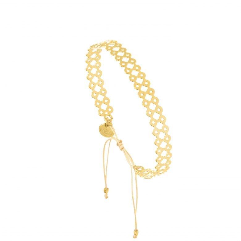 Bracelet dentelle, Bracelet fantaisie, Bracelet jonc plaqué or femme, Créateur de bijoux, dentelle, pepite bijoux